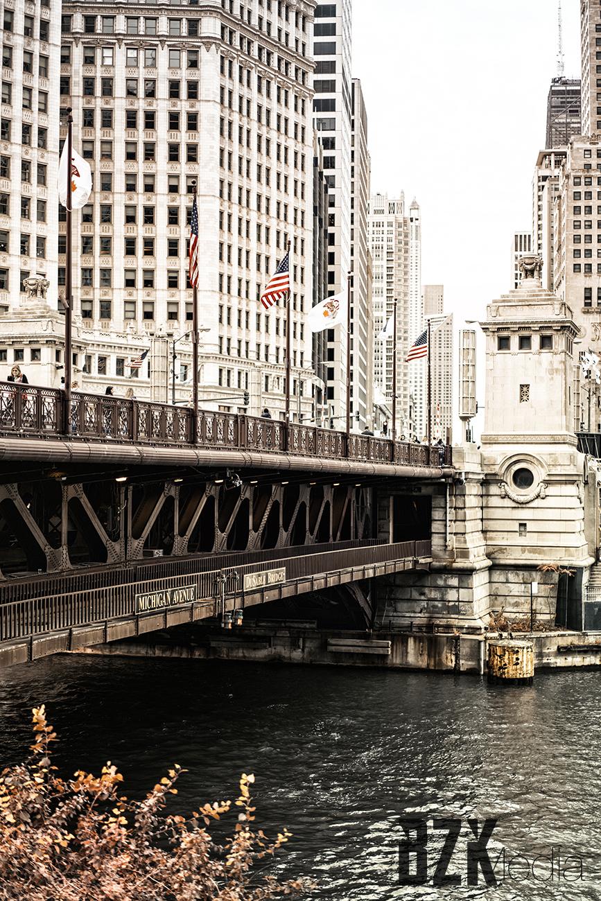 Michigan Ave Bridge